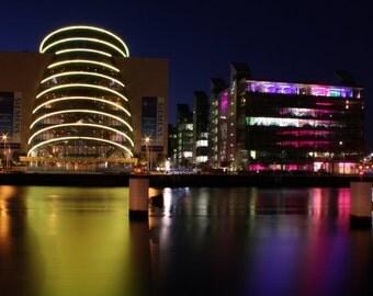 Dublin Convention Centre Photograph / Travel Photograph / Home Decor / Ireland Photography / fpoe