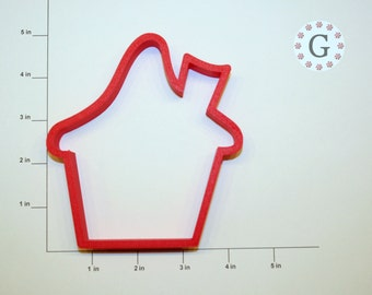Snowy Gingerbread House Cookie Cutter