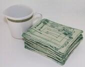 Star Wars Theme Fabric Coaster // Coffee Mug Rug
