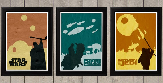 11x17 star wars movie posters