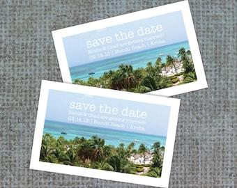 Wedding Save the Date, STD Postcard, Postcard Invite, Save the Date, Destination Wedding