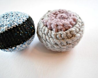 Crochet Dog Toys, Pet Supplies, Pet Toys, Dog Toys, Pet Accessories, Home and Living Pets, K-9 Toys, Small Animal Toys, Crocheted Balls