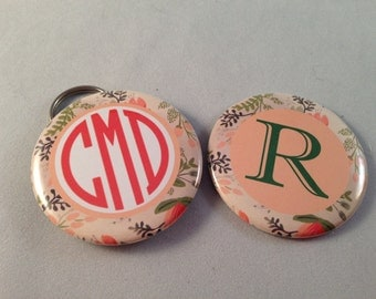Monogram Bottle Opener, Pocket Mirror, Magnet