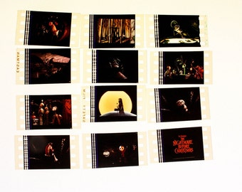 The Nightmare Before Christmas 35mm film Cells - 12 Pack