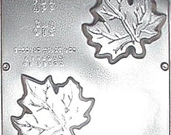 "Maple Leaf Mold for Soap or Chocolate 3 3/4"" x 3 3/4"" x 3/4"" 016"
