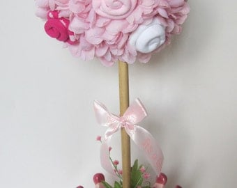 baby girl topiary princess baby shower centerpiece baby girl shower decoration welcome baby