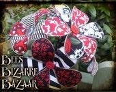 Funky Fabric Flowers - Alternative Unusual Flowers - Wedding, Gift, House