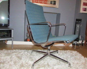 A Charles Eames Aluminium Group EA116 Swivel chair -Two sold four left!!!