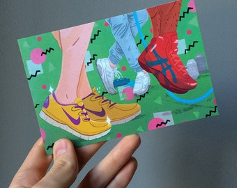 Shoes! Postcard
