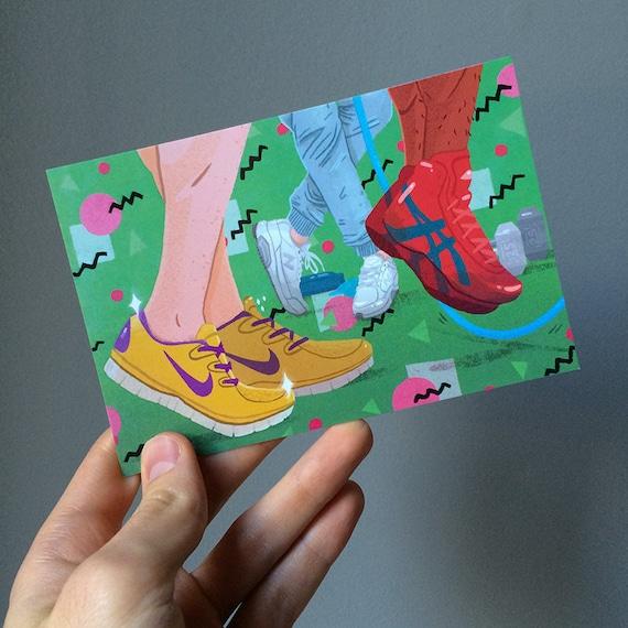 Shoes! Postcard
