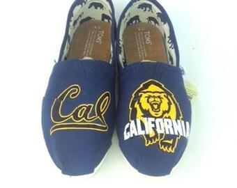 Customized Berkeley  Cal Bear TOMS