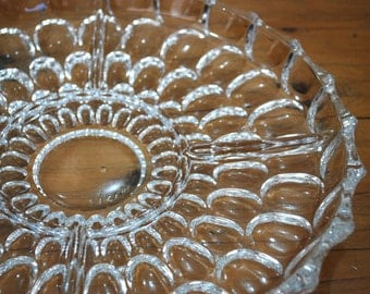 Glass Appetizer Serving Platter