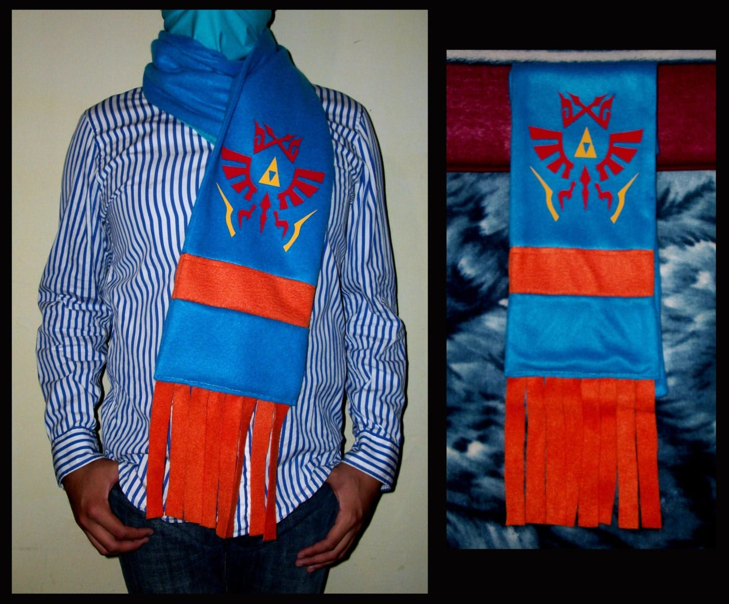 Hyrule Warriors Link Scarf Pattern Hyrule Warriors Scarf The