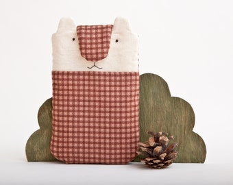 Bear iPhone Case, Smartphone sleeve, iPod Touch, Fabric iphone case