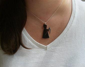Grim Reaper Pendant Necklace