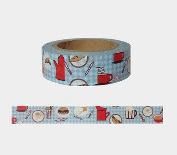 Kitchen Washi Tape Japanese Washi Tape Deco Tape 15mm