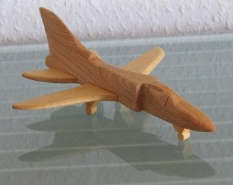 Tornado fighter plane aircraft jet Hanarbeit NEW wood