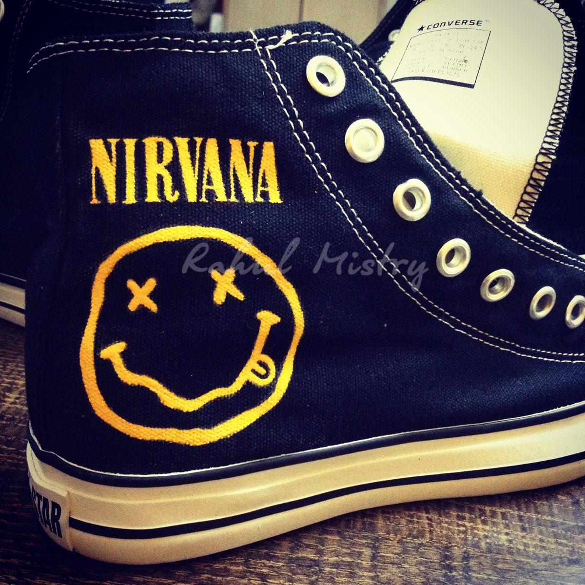 Nirvana Converse Shoes