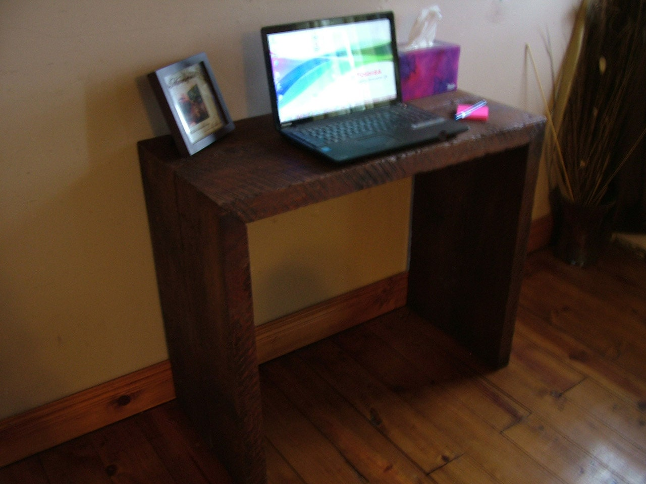 Reclaimed Barn Wood Desk Solid wood your by BarnwoodDesignsNY