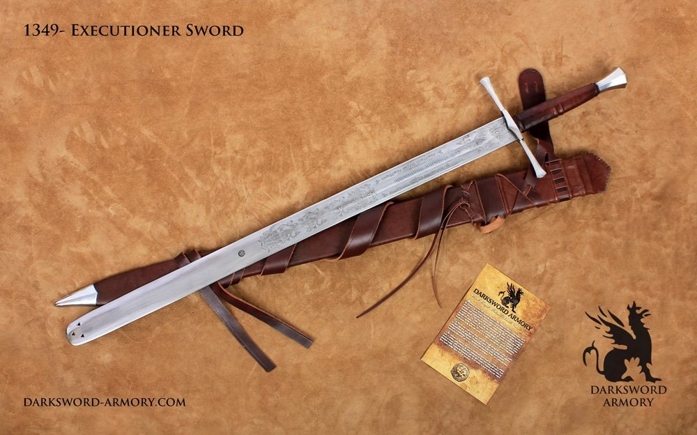 The German Executioner Medieval Sword 1349
