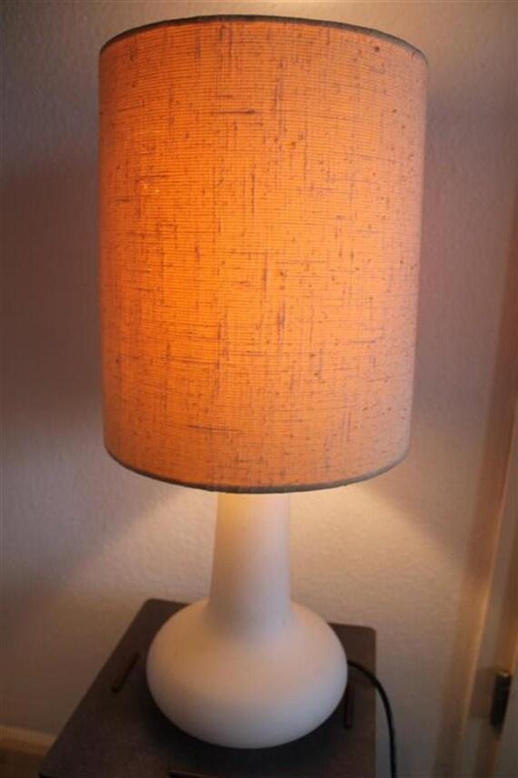Brass Table Lamp Mid Century