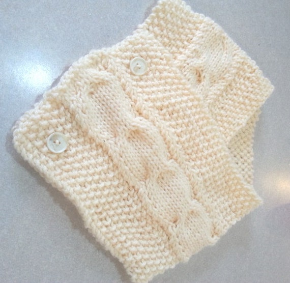 white Neck warmer, neck warmer, hand knit, hand knitted, ready to ship ...