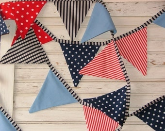 Long Bunting, Garland, Flag line, fabric bunting