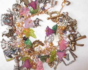 "Ultimate Twilight Saga Inspired-""The Meadows"" 2 Bracelet w/ 43 charms"