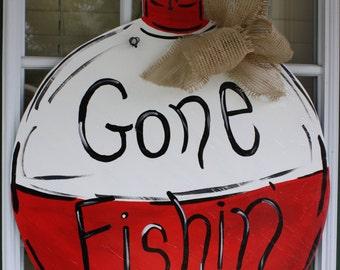 Fishing Door Hanger
