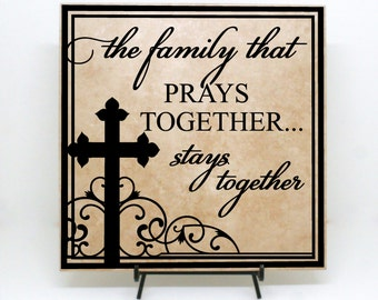 Seems brilliant the couple that prays together stays together think