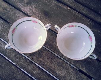 Vintage Decorative Teacups - Set of 2