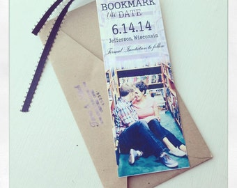 Save date bookmark | Etsy