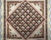 Meet Me In Paris Quilt Pattern ~ The Scrappy Appleyard ~ Make With EZ Dresden Ruler