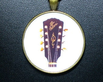 A-3 Mandolin Peghead Necklace / Pendant