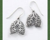 Anatomical Lung Earrings