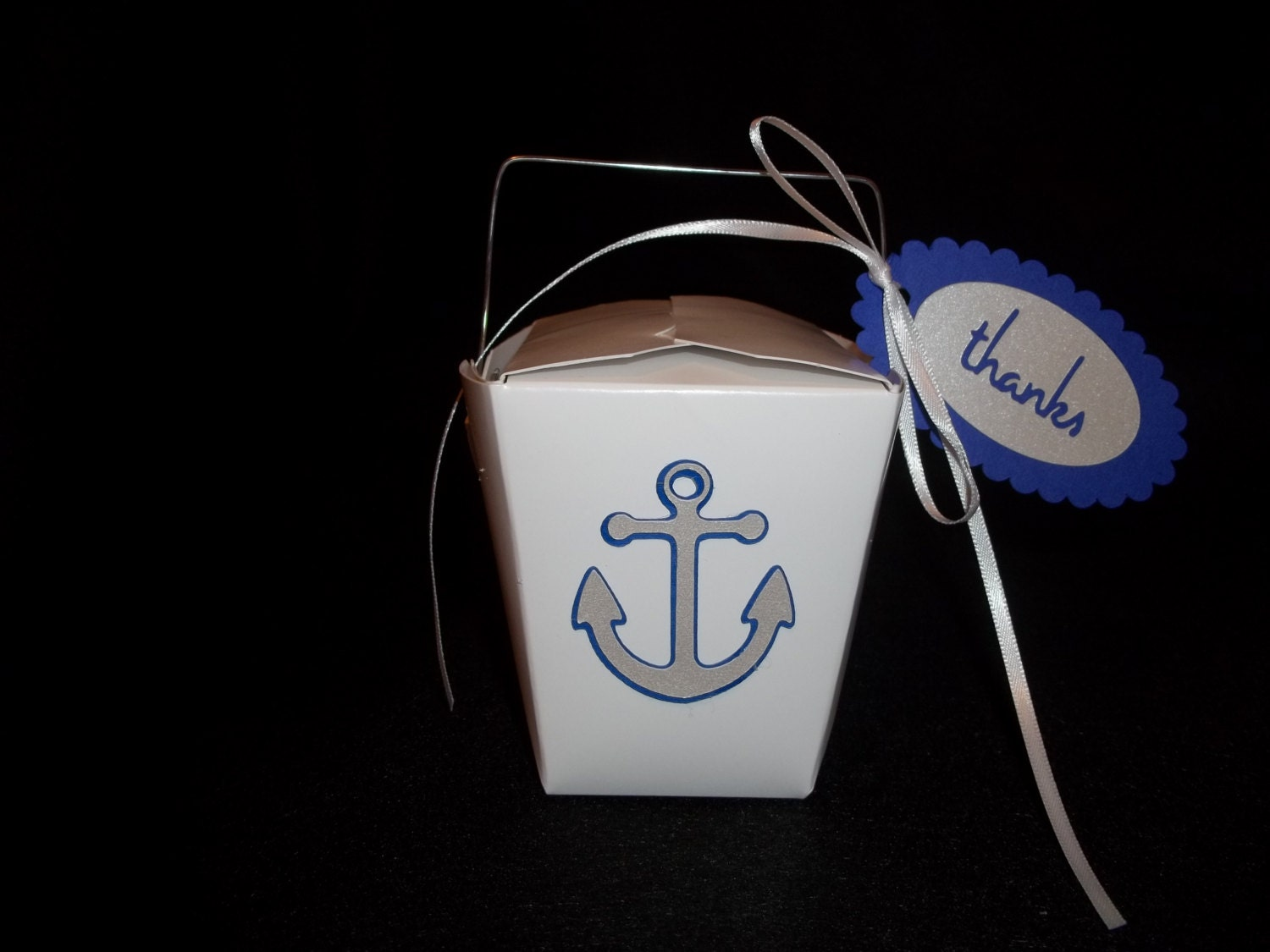 Chinese take out favor boxes wedding : Anchor chinese take out favor boxes destination or