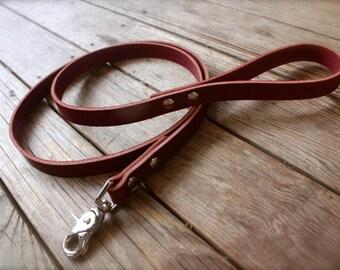Handmade Leather Dog Leash