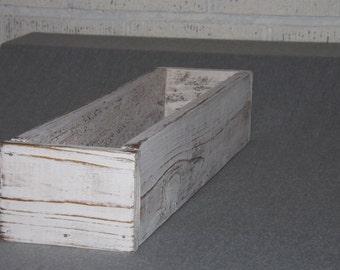 Trough/Wood Planter box/Table Centerpiece/Organizer/Table trough/Wedding centerpiece/Succulent planter