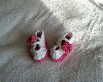 Daisy  Baby Shoe Booties
