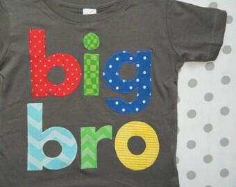 Big Brother Shirt, Big Bro Shirt, Toddler Big Brother T-Shirt