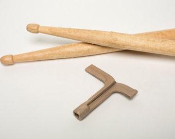 deco drum key - cast bronze