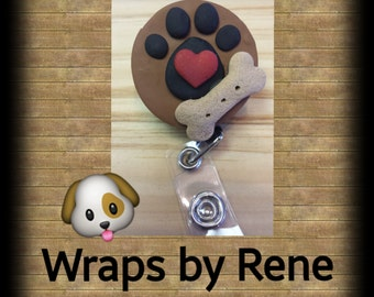 Vet Technician/Veterinarian/Dog Groomer/Veterinary Students/Pet Rescue/Dog Rescue/Pet Groomer/Badge Reel/Gifts