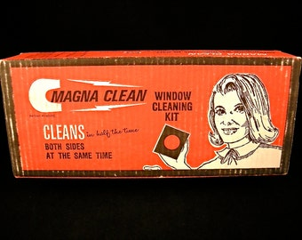 1960's Window Cleaning Kit
