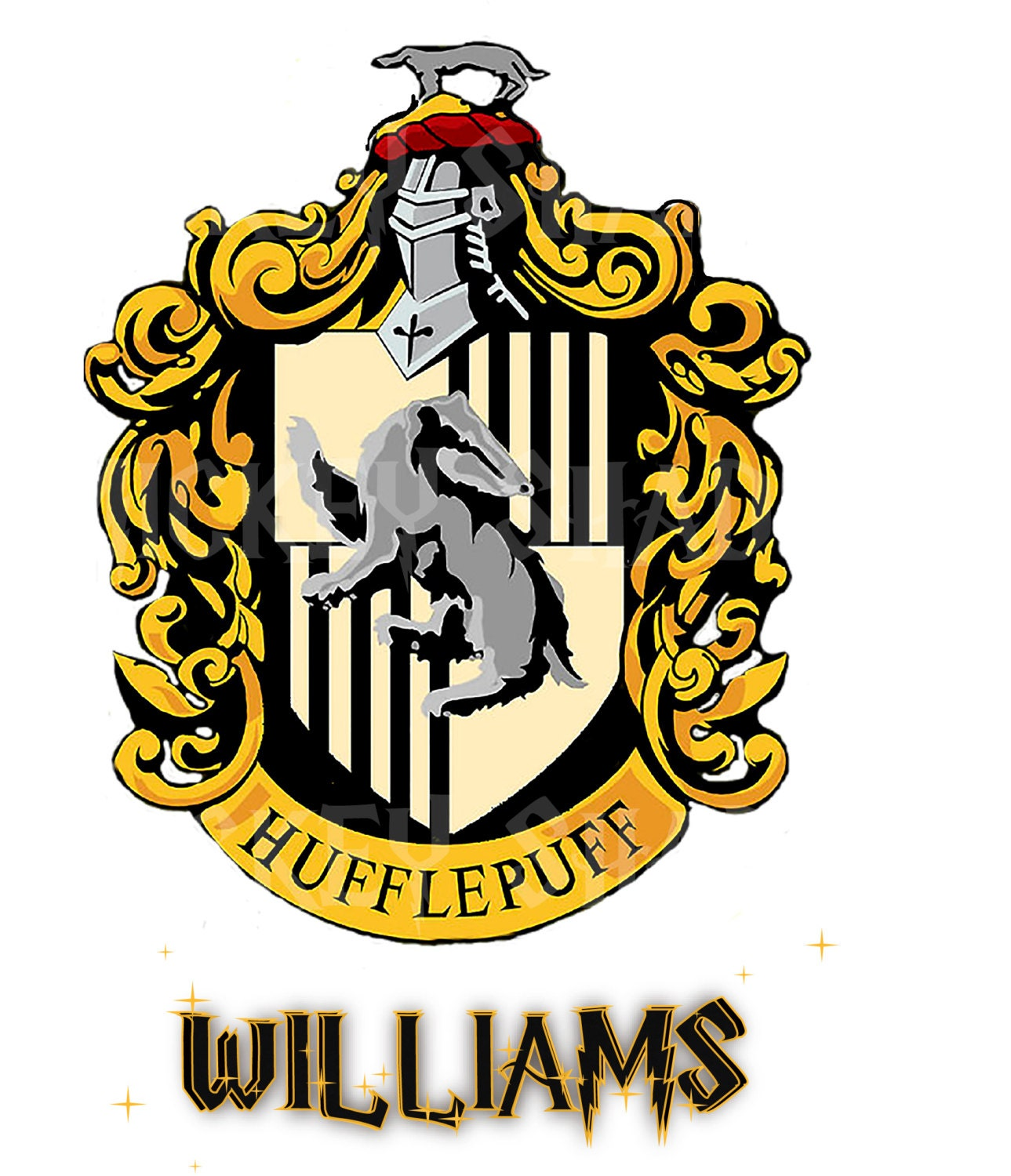 crest HUFFLEPUFF . Harry Potter printable Iron by mickeyshadow