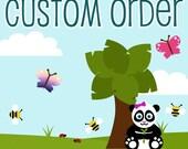 Custom order for mleitao325
