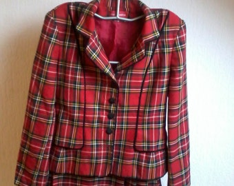 "Overall jacket and skirt ""kilt"" short ALAIN MANOUKIAN"
