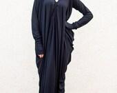 Wrap Dress, Maxi Dress, Caftan TDK07, Evening Dress by TEYXO, Kimono Dress, Cocktail Dress
