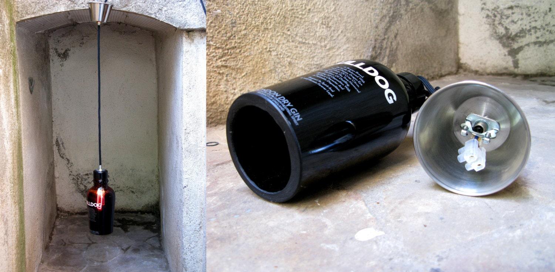 ... : Lampade Con Bottiglie Riciclate: Decorare con le corde: 7 idee