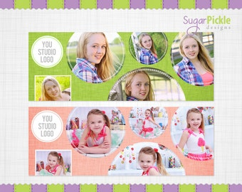 Facebook Cover Templates, INSTANT DOWNLOAD, Summer Facebook Templates, Photographer Facebook Cover