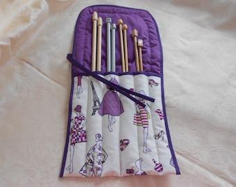 Knitting Needle Roll (E4761)